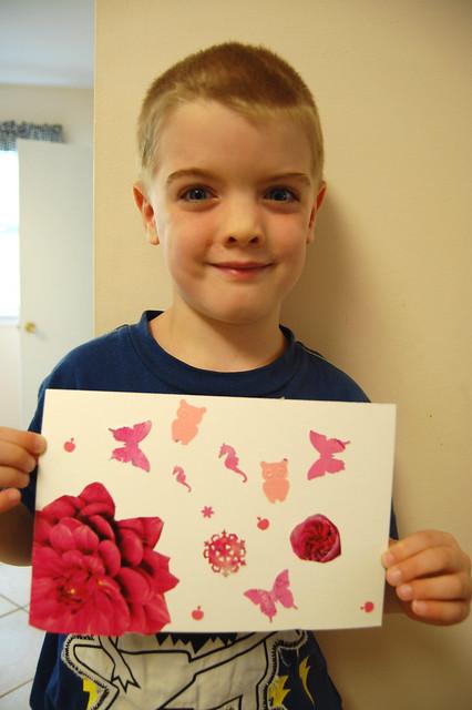 15 - Matisse - Pink Shapes