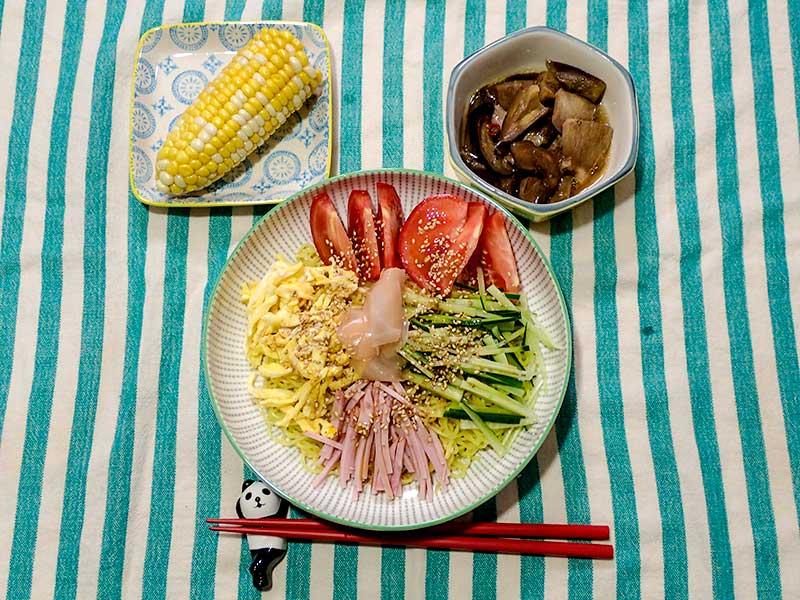 2015年8月13日の晩ご飯