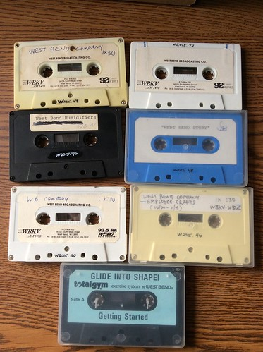 West Bend audiocassettes