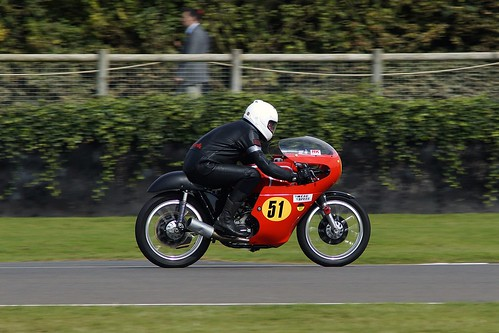 Walmsley Matchless G50 at speed