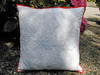 Free motin quilted cushion