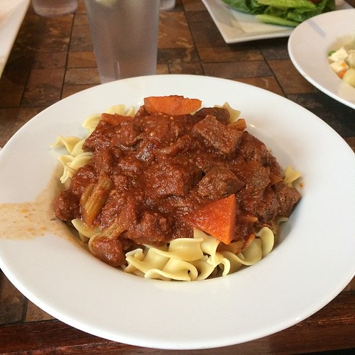 Braised beef stew #yegfood