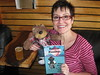 Mitzi Szereto and Teddy Tedaloo celebrate the release of their new book
