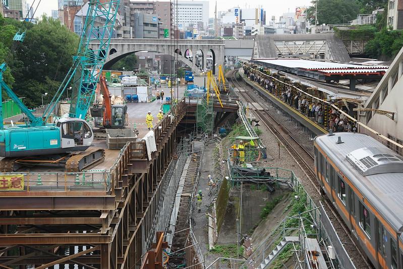 Tokyo Train Story 御茶ノ水駅 2015年9月3日