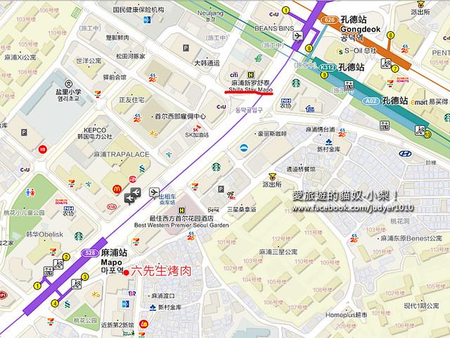 麻浦地圖 -1