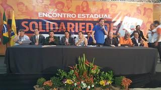 Encontro estadual do Solidariedade em São Luís-MA