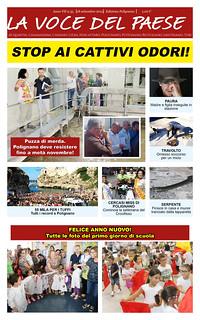 Polignano 35 copertina 18 settembre 2015