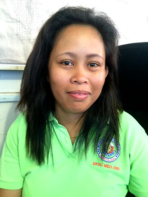 Medellin engineering staff Cherry Lyn G. Montilla