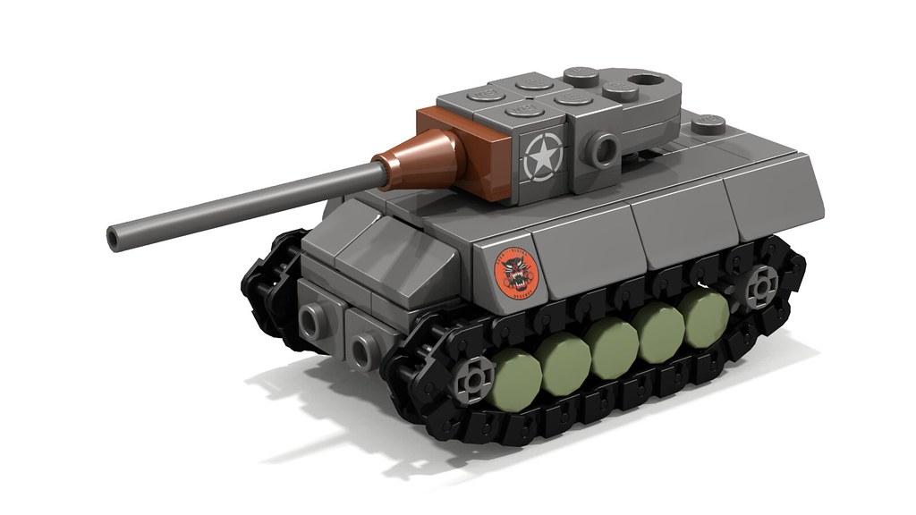 M18 Hellcat mini tank destroyer