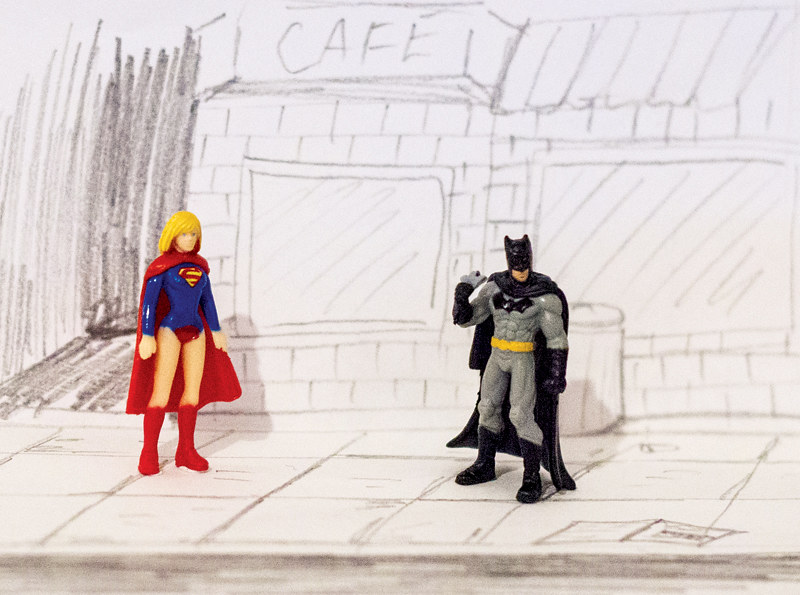 Batman&Supergirl