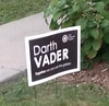 Darth Vader lawn sign by jpolowin