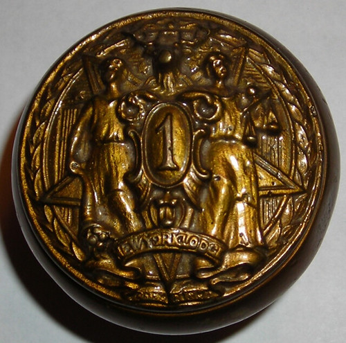 Elks Lodge #1, NYC, NY (Dining Room Doorknob - Jason Castlebury Collection)