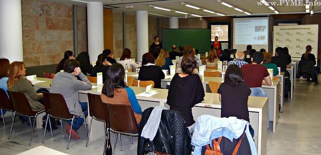 Público asistente a la jornada 'La actividad física y la alimentación saludable' organizada por el Centro de Innovación Gastronómica con la colaboración de DANONE.