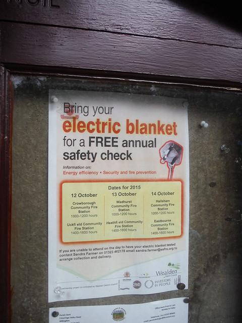 Notice in Jevington
