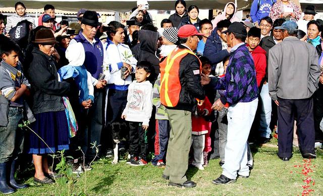 Pubelo Kayambi Administracion de Justicia Indígena-Sentencian de Urkucama a quien quemó cerro-Fotos Pueblo