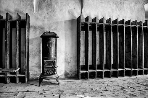 Calefacción, Terezin, Nazi Concentration Camp