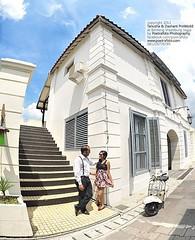 Outdoor pre wedding photo for Tanusha & Dashant. Pre wedding photoshoot at Benteng Vredeburg Yogyakarta. Foto prewedding by @poetrafoto, http://prewedding.poetrafoto.com 👍😊😍