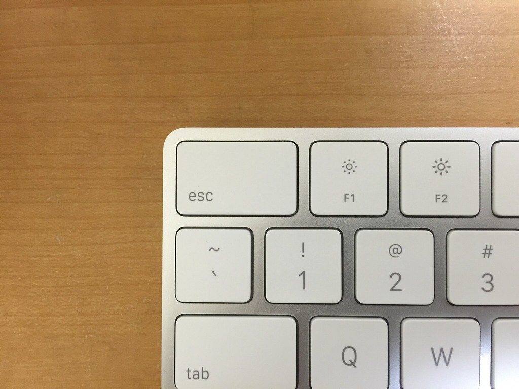 Larger ESC and Function Key