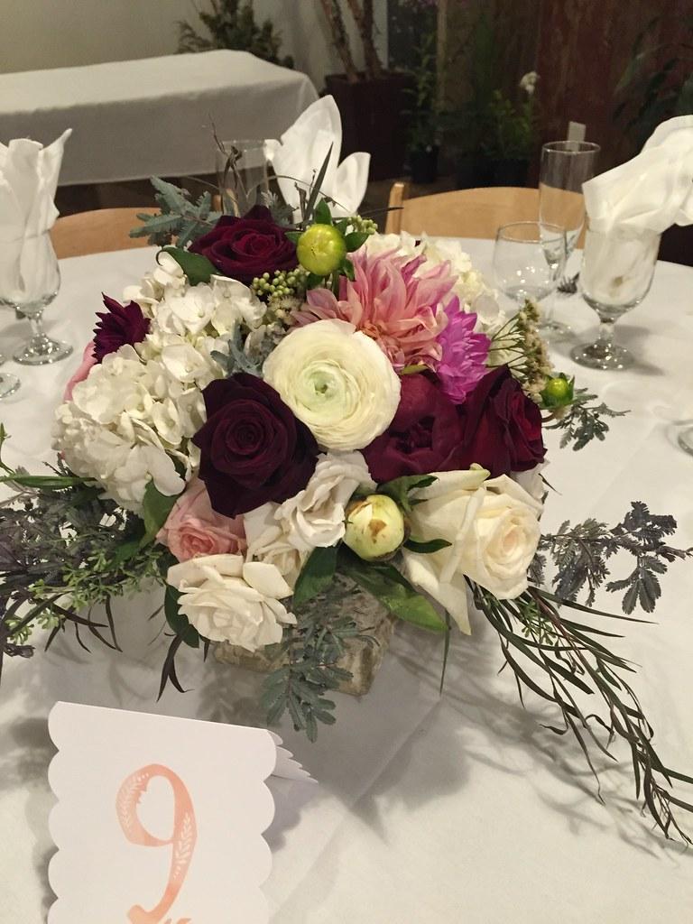 Centerpieces aimstudios naperville wedding florist