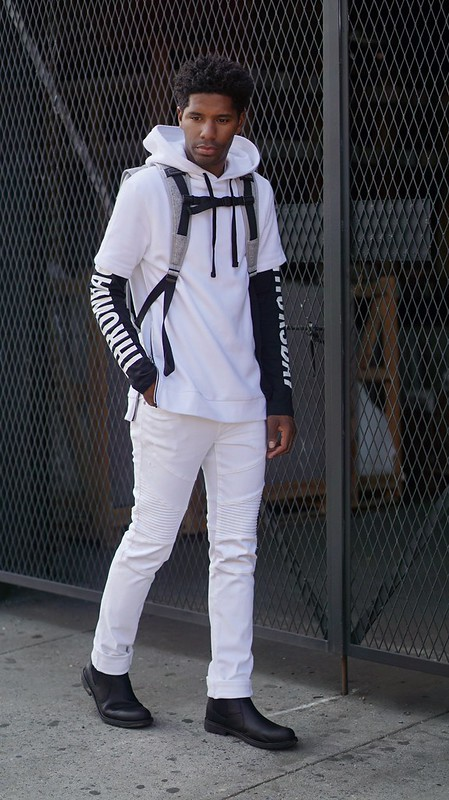 All White Look Menswear