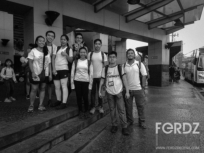 The walkers group photo in Ortigas