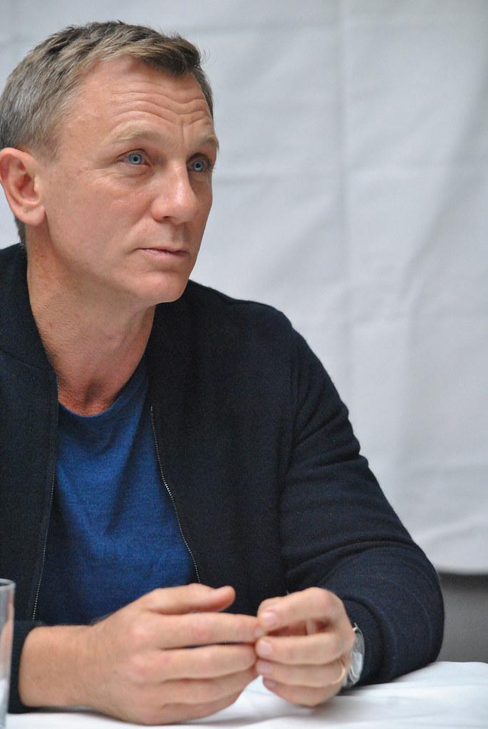 Дэниел Крэйг — Пресс-конференция «007: СПЕКТР» 2015 – 61