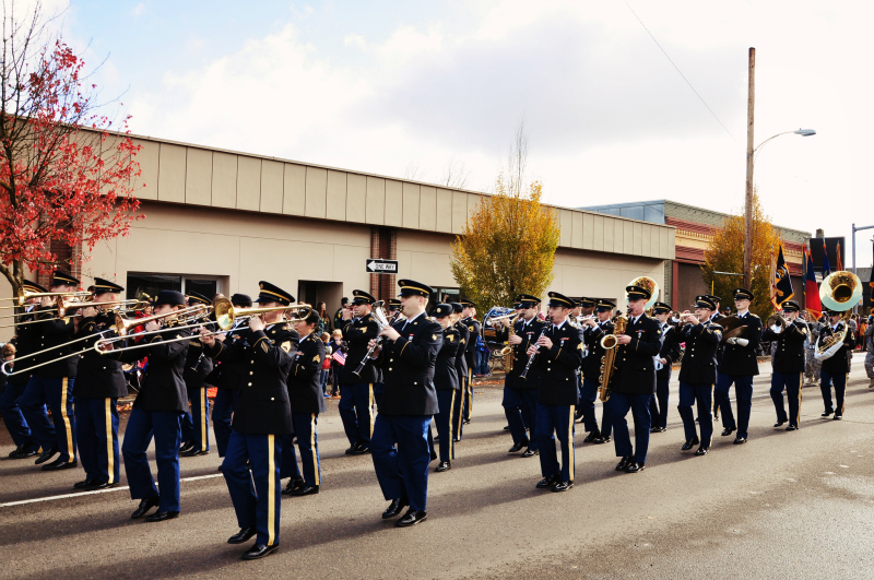 Veteran's Day Parade @ Mt. Hope Chronicles