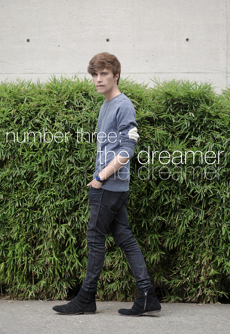 Number three The dreamer