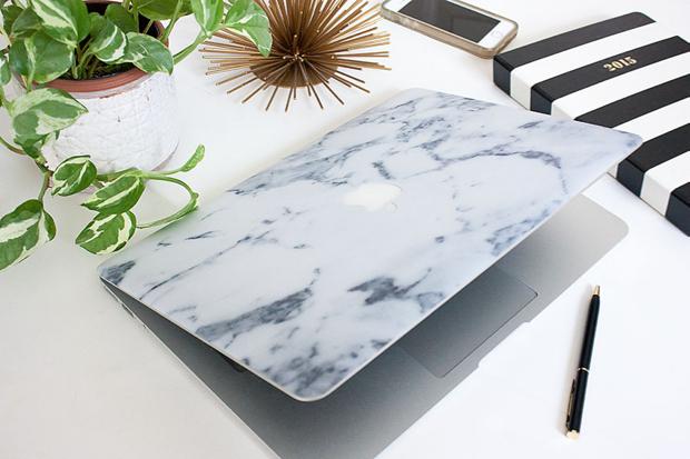 CaseApp Skin, Marble Laptop Cover