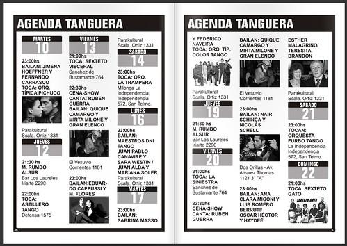 Revista Punto Tango 109 Agenda de Tango en Buenos Aires