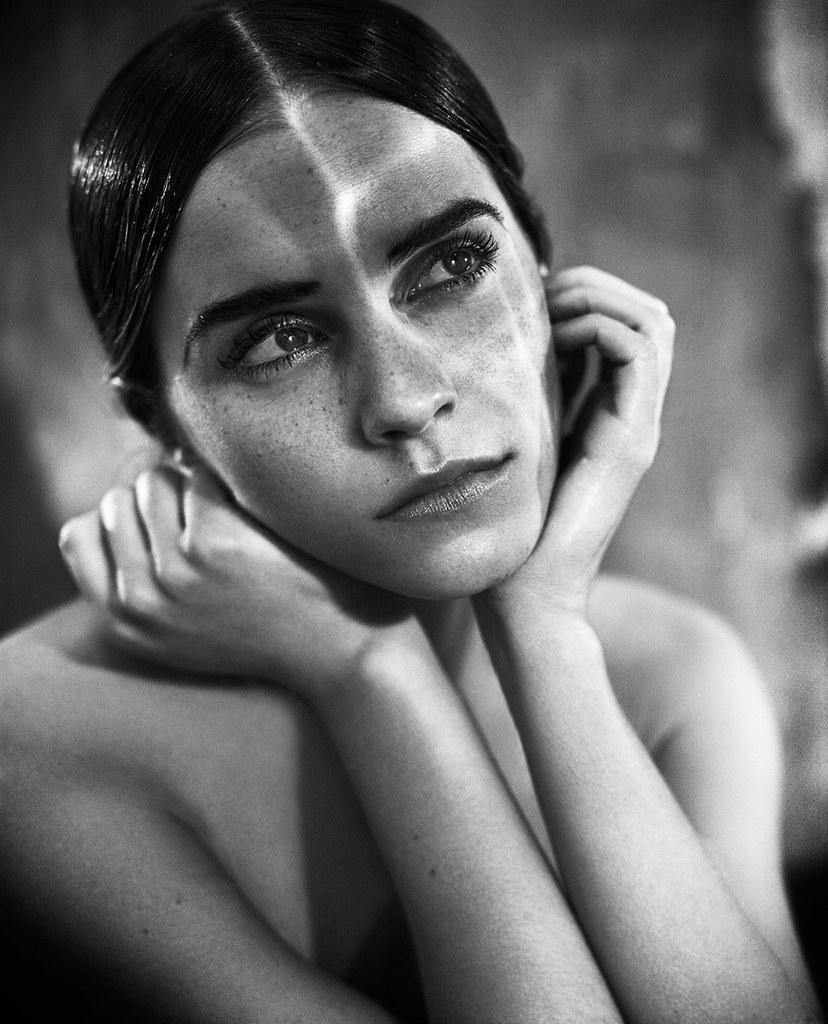 Эмма Уотсон — Фотосессия для «Vogue» IT 2015 – 11