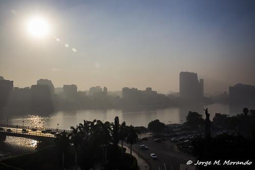 fog sunrise egypt nile cairo egipto eg zamalek canon6d gizagovernorate