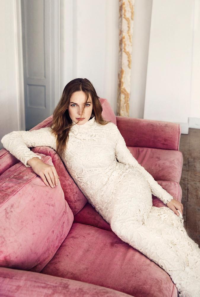 Ребекка Фергюсон — Фотосессия для «Elle» SE 2015 – 4