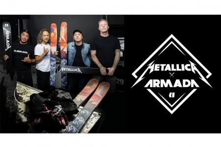 Metallica jezdí na lyžích Armada