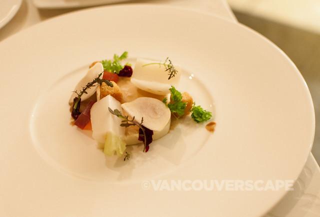 West/Foie gras parfait