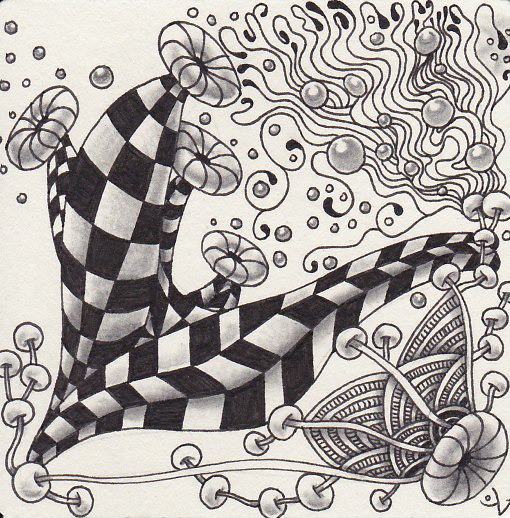One Zentangle a Day: Day #4
