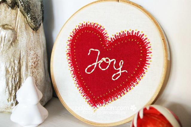 Joy Heart - Free Pattern