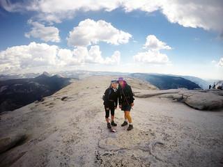 Half Dome Hike 2015