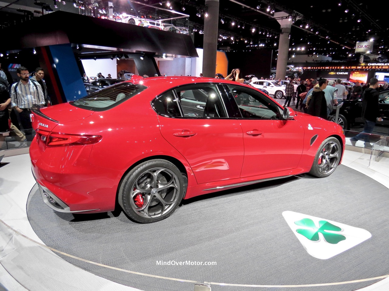 Alfa Romeo Giulia Rear Red
