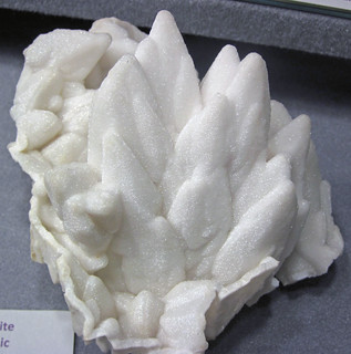 Dolomite after calcite (Boldut Mine, Cavnic, Maramures County, Romania) 1