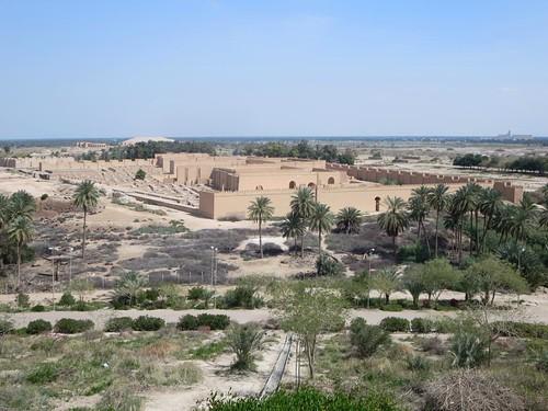 nebuchadrezzar babylon iraq palace
