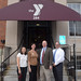 After a tour of the renovated and updated facility, Rep. Rosa Rebimbas, CEO Susan Talbot, Rep. David Labriola and John Cattelan, Executive Director of the CT Alliance of YMCAs, posed for a photo outside the Naugatuck YMCA.