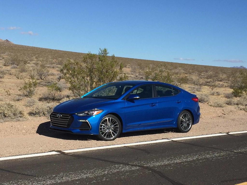 2017 Hyundai Elantra Sport: Desert Heat