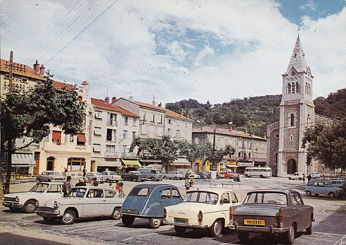 Postcard Le Cheylard (07 Ardèche) 1969