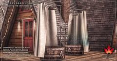 Trompe Loeil - Winery Barrel Showers for Uber November