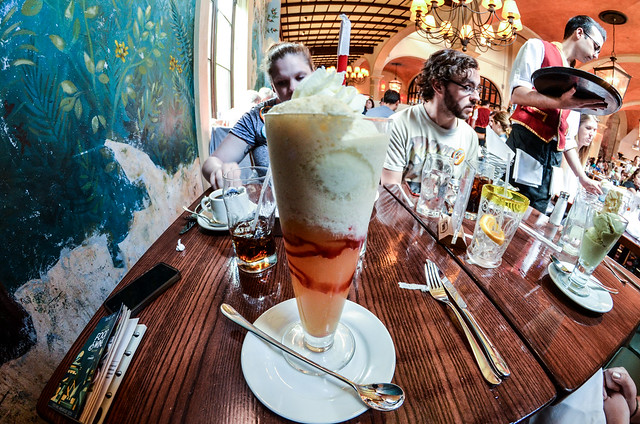 ice cream soda Via Napoli