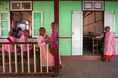 School. Sagaing, Myanmar