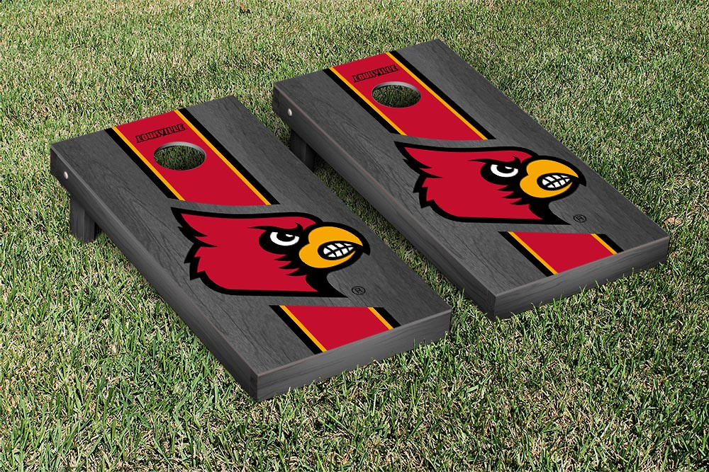 Louisville Cardinals Onyx Stained Stripe Version