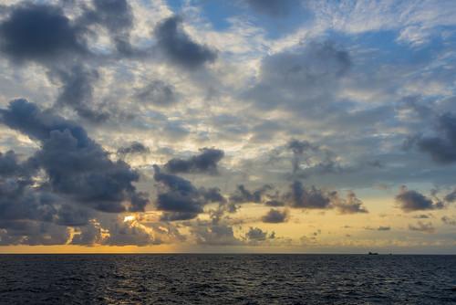 Sunset Before Manta Ray Dive_1