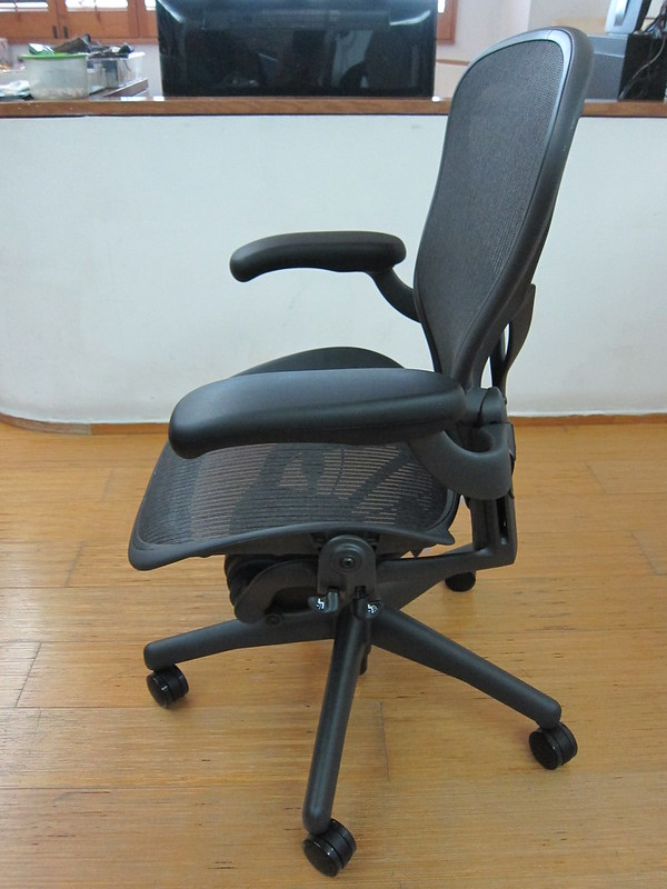 Herman Miller Aeron Chair - Left